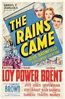 The Rains Came movie poster (1939) picture MOV_28436f24