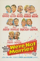 We're Not Married! movie poster (1952) picture MOV_284df539