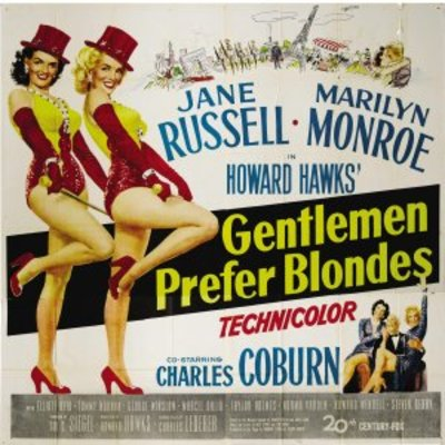 Gentlemen Prefer Blondes movie poster (1953) poster MOV_28512406