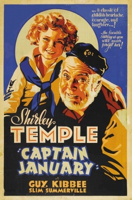 Captain January movie poster (1936) poster MOV_28575639