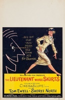 The Lieutenant Wore Skirts movie poster (1956) picture MOV_286f8401