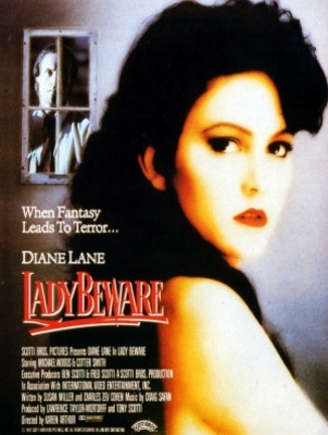 Lady Beware movie poster (1987) poster MOV_2876de9e