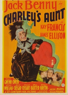 Charley's Aunt movie poster (1941) poster MOV_2878bb49