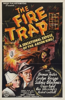 The Fire-Trap movie poster (1935) poster MOV_28939a46