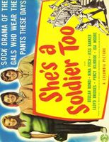 She's a Soldier Too movie poster (1944) picture MOV_28a2bba7