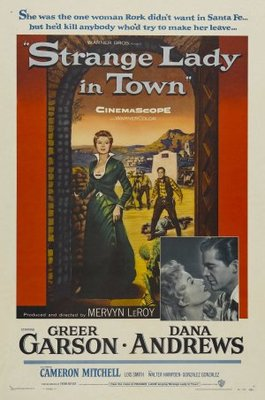 Strange Lady in Town movie poster (1955) poster MOV_28c7755b