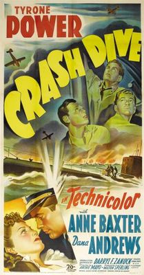 Crash Dive movie poster (1943) poster MOV_28e862aa