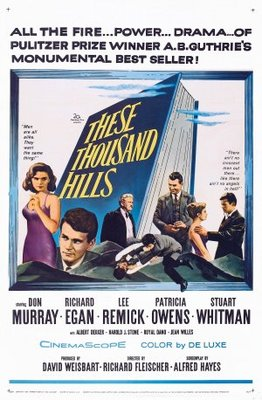 These Thousand Hills movie poster (1959) poster MOV_2907a27a