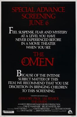 The Omen movie poster (1976) poster MOV_290c2020