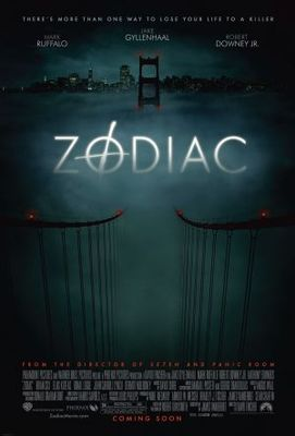 Zodiac movie poster (2007) poster MOV_29118aeb