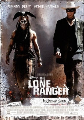 The Lone Ranger movie poster (2013) poster MOV_292511d1