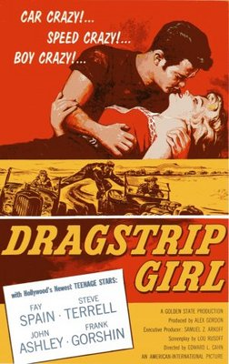 Dragstrip Girl movie poster (1957) poster MOV_292c3ca1