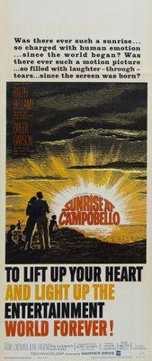 Sunrise at Campobello movie poster (1960) poster MOV_29339649