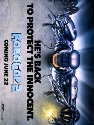 RoboCop 2 movie poster (1990) poster MOV_295d6158