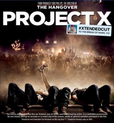 Project X movie poster (2012) poster MOV_295f3023