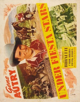 Under Fiesta Stars movie poster (1941) poster MOV_295fddee