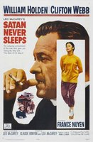 Satan Never Sleeps movie poster (1962) picture MOV_29720047