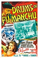 Drums of Fu Manchu movie poster (1940) picture MOV_2982fc4a