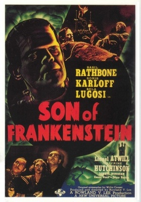 Son of Frankenstein movie poster (1939) poster MOV_298fccae