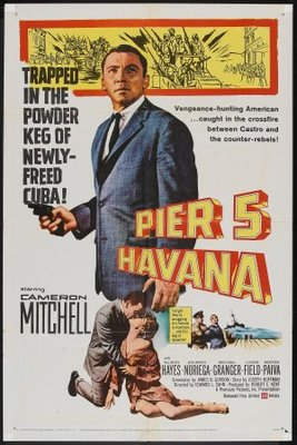 Pier 5, Havana movie poster (1959) poster MOV_29b08c8e
