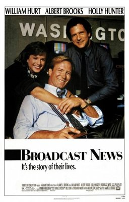 Broadcast News movie poster (1987) poster MOV_29b1a989