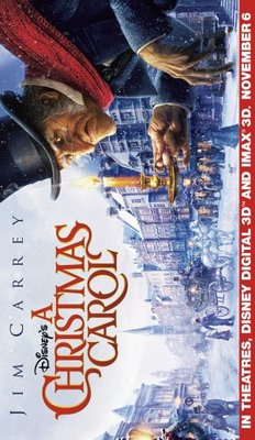 A Christmas Carol movie poster (2009) poster MOV_29d62a26