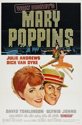 Mary Poppins movie poster (1964) poster MOV_29e54db0