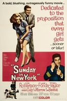 Sunday in New York movie poster (1963) picture MOV_2a2062d4