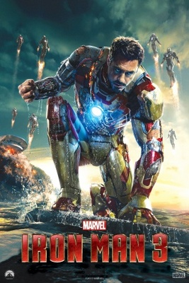 Iron Man 3 movie poster (2013) poster MOV_2a29d548