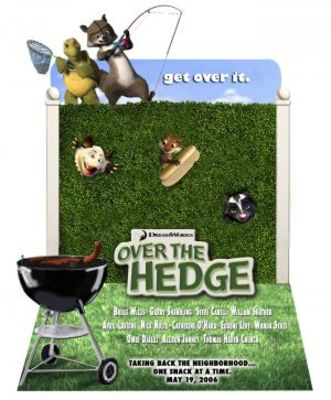 Over The Hedge movie poster (2006) poster MOV_2a45146e