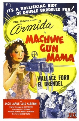 Machine Gun Mama movie poster (1944) poster MOV_2a486569