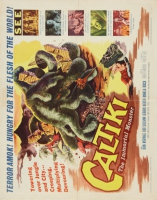 Caltiki - il mostro immortale movie poster (1959) poster MOV_2a59718d
