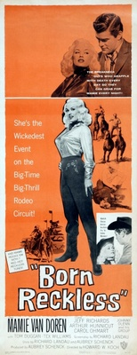 Born Reckless movie poster (1958) poster MOV_2a854c1f