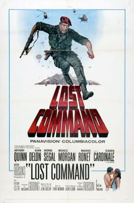 Lost Command movie poster (1966) poster MOV_2a8b2ddd