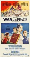 War and Peace movie poster (1956) picture MOV_2a9727e0