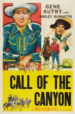 Call of the Canyon movie poster (1942) poster MOV_2a9c2304
