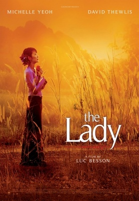 The Lady movie poster (2011) poster MOV_2aacb3ac