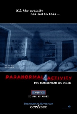 Paranormal Activity 4 movie poster (2012) poster MOV_2ab16963