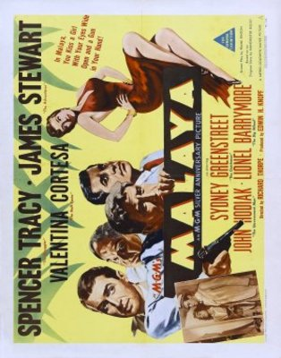 Malaya movie poster (1949) poster MOV_2ab689fa