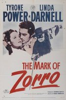 The Mark of Zorro movie poster (1940) picture MOV_2abe7565