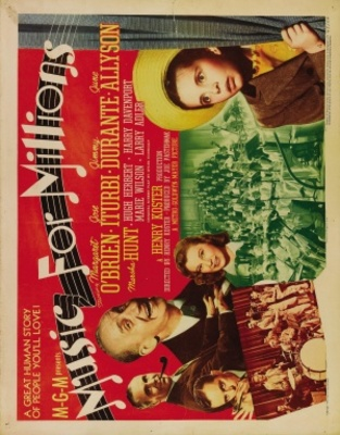 Music for Millions movie poster (1944) poster MOV_2ae4398d