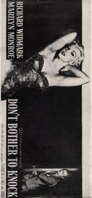 Don't Bother to Knock movie poster (1952) poster MOV_2ae54fb1