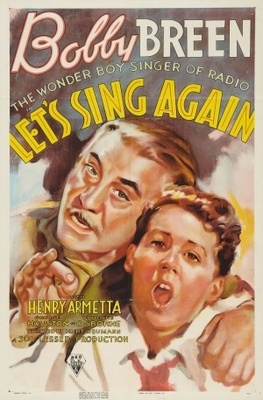 Let's Sing Again movie poster (1936) poster MOV_2aebd8fd