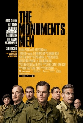 The Monuments Men movie poster (2013) poster MOV_2aef67d1