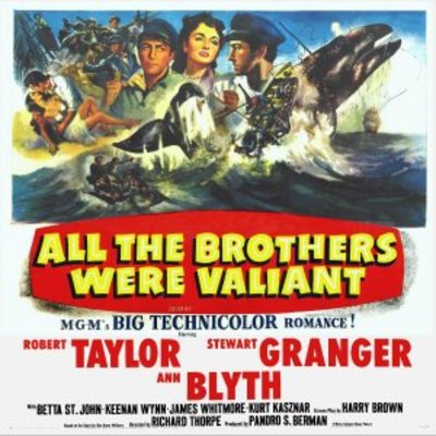 All the Brothers Were Valiant movie poster (1953) poster MOV_2b348635
