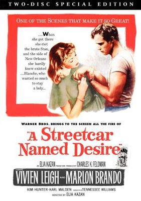 A Streetcar Named Desire movie poster (1951) poster MOV_2b3ffd2a