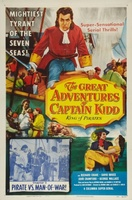 The Great Adventures of Captain Kidd movie poster (1953) picture MOV_2b56d3d4