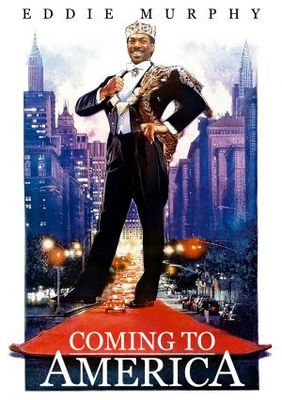 Coming To America movie poster (1988) poster MOV_2b57d2d9