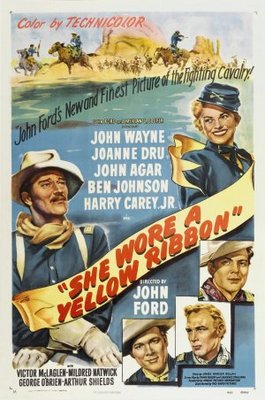 She Wore a Yellow Ribbon movie poster (1949) poster MOV_2b69e44a