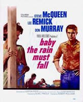 Baby the Rain Must Fall movie poster (1965) picture MOV_2b6e0311